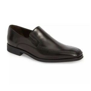MONTE ROSSO Lucca Nappa Leather Loafer Sz 11 1/2 M